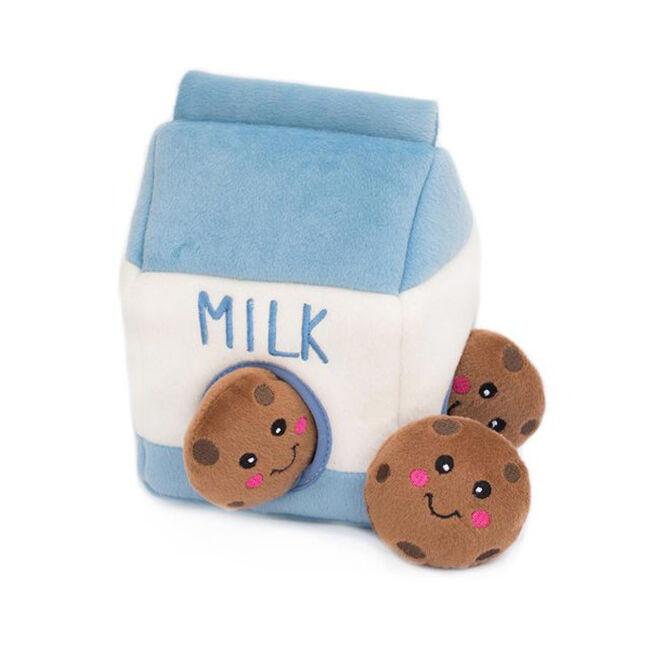 ZippyPaws Milk 'n Cookies Zippy Burrow image number null