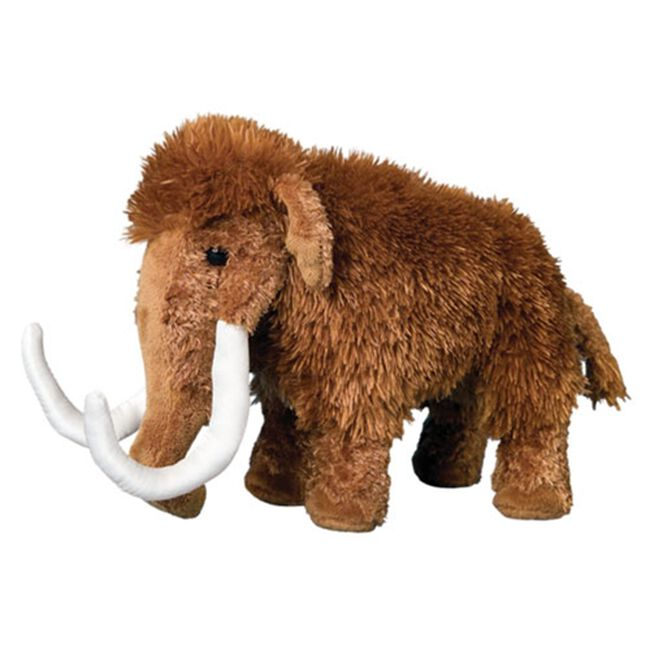 Douglas Everett Wooly Mammoth Plush Toy image number null