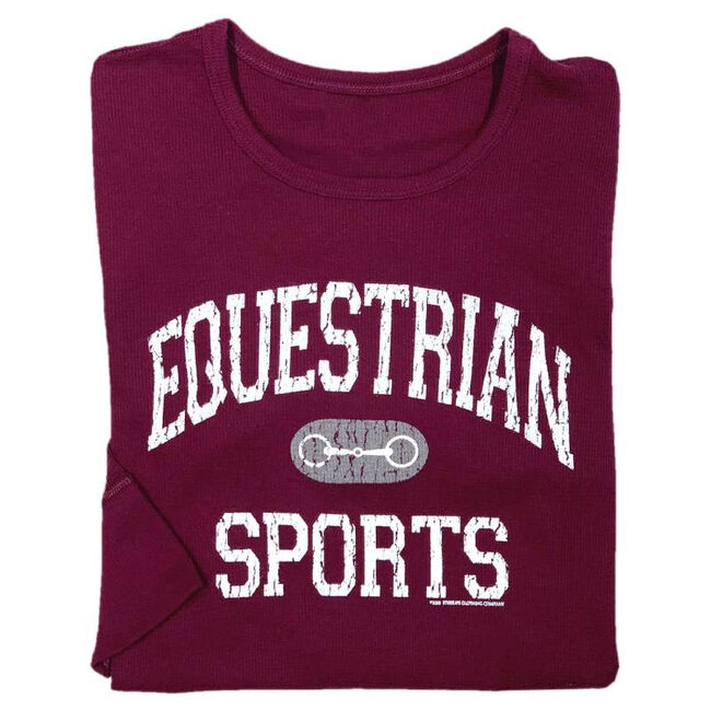 """Stirrups """"Equestrian Sports"""" Long-Sleeved Thermal Shirt image number null"""