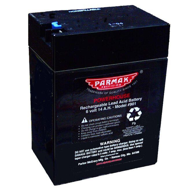 Parmak 6V Gel Cell Battery 901 image number null