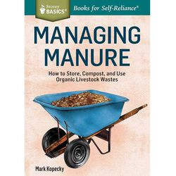 Managing Manure: How to Store, Compost, and Use Organic Livestock Wastes.