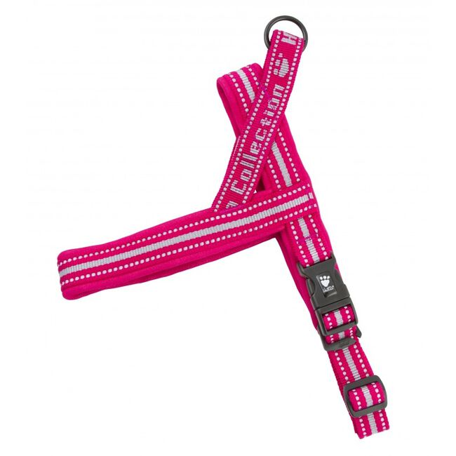 Hurtta Padded Dog Harness Cherry image number null