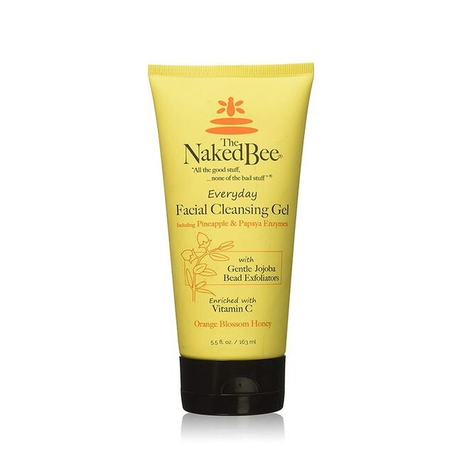 Naked Bee Facial Cleansing Gel 5.50z image number null