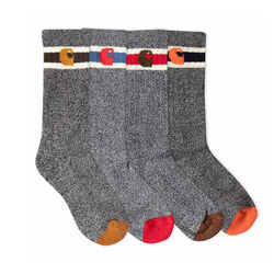Carhartt Toddler's Boy's Camp Socks 6 Pack