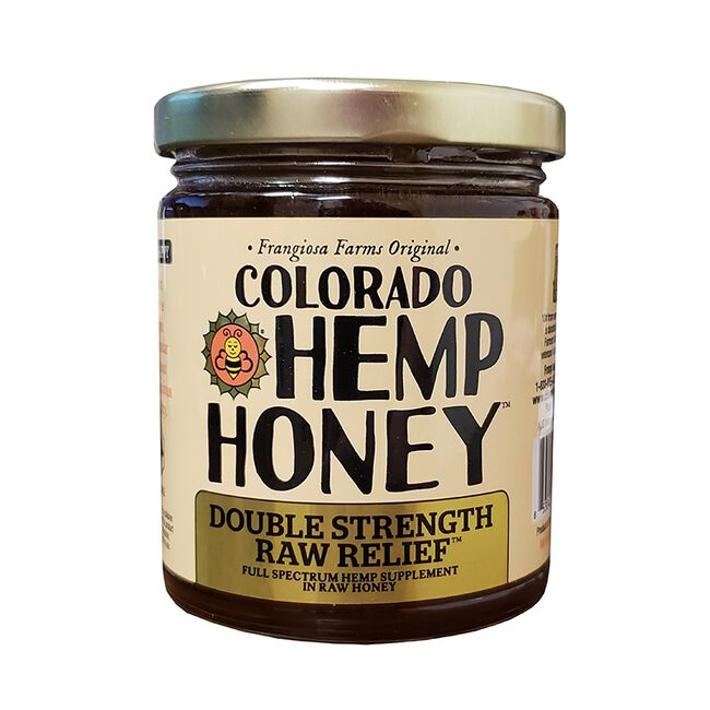 Colorado Hemp Honey for People & Pets - Double Strength Raw Relief - 12oz image number null