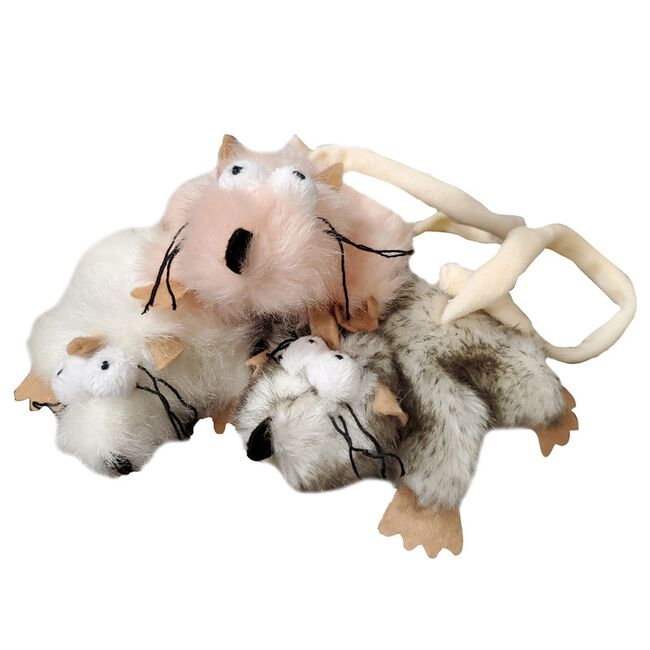Steel Dog Combo Critter Catnip Toy image number null