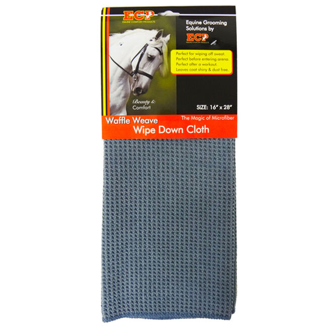 Equine Comfort Products Wipe Down Horse Grooming Cloth image number null