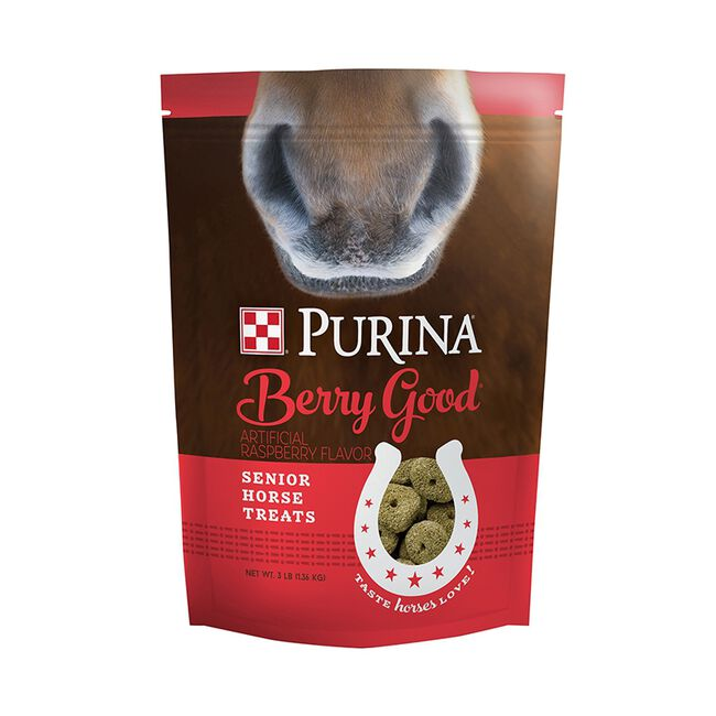 Purina Horse Treats Berry Good, 3 lb image number null