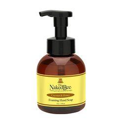 Naked Bee Foaming Soap - Coconut Honey -  12oz
