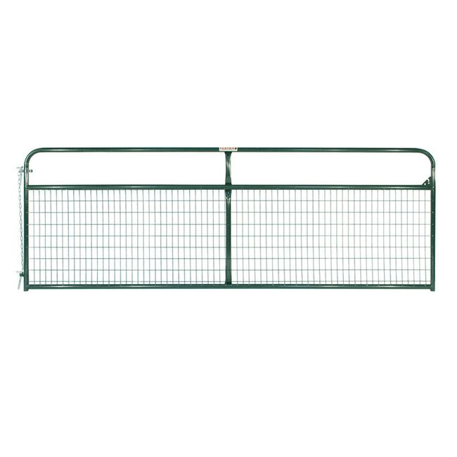 Tarter Watchman Green Wire Mesh Gate image number null