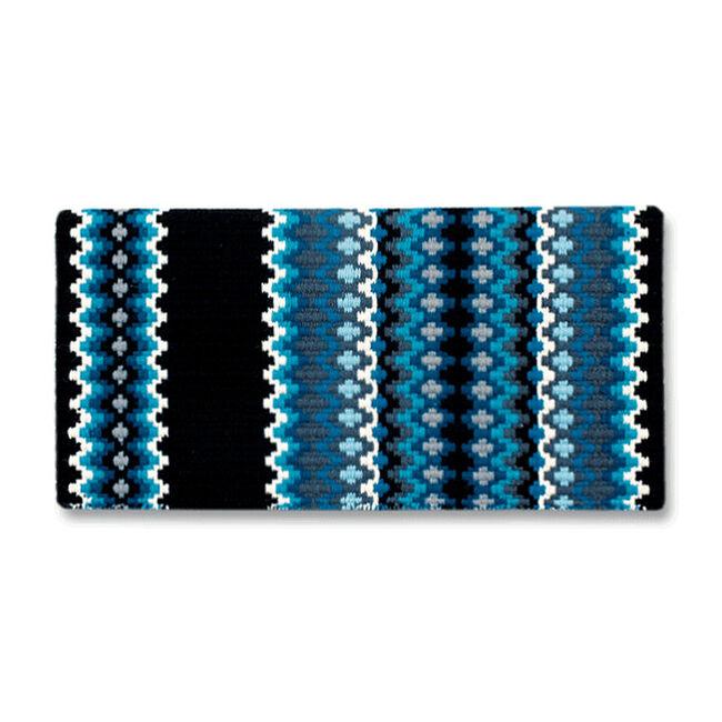 Mayatex Gemini Saddle Blanket - Ocean Blue image number null