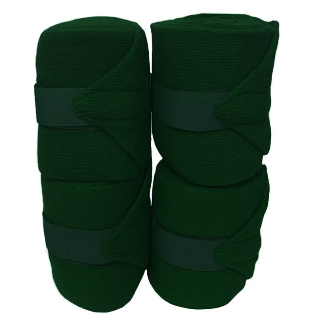Jack's Acrylic Knit Stall Bandages - Forest Green image number null