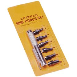 Jacks Leather Mini Punch Set