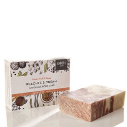 Earth Luxe Peaches & Cream Nearly Natural Soap