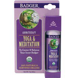 Badger Yoga & Meditation Aromatherapy Balm