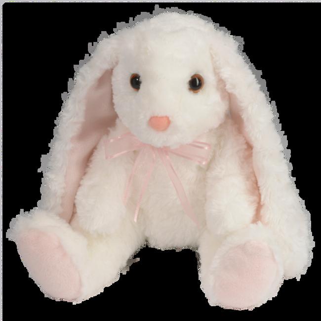 Douglas Mama White Bunny Plush Toy image number null