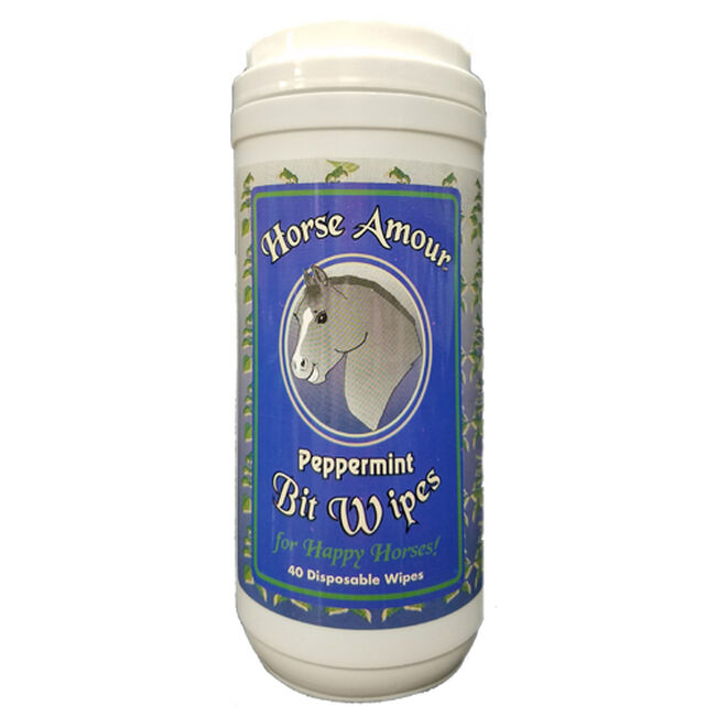 Horse Amour Peppermint Bit Wipes image number null