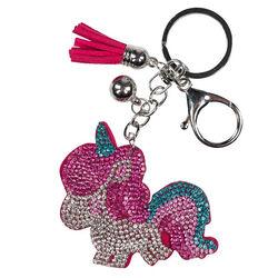 Horze Sparkly Pink Unicorn Pony Keychain