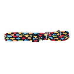 Yellow Dog Design Rainbow Fish Cat Collar
