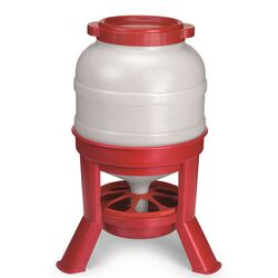 Miller Plastic Dome Poultry Feeder 45 lb Capacity
