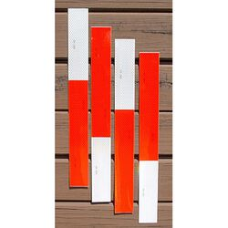 Caution Horses Reflective Strips