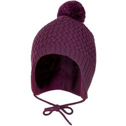Janus Girl's Knit Hat with Tie
