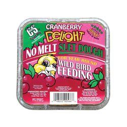 C&S Cranberry Delight No Melt Suet Dough 11.75 oz