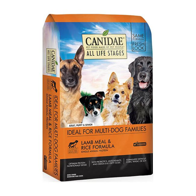 Canidae All Life Stages Lamb & Rice Premium Dry Dog Food image number null