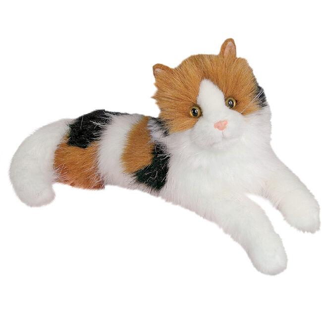 Douglas Puzzle Calico Cat Cuddle Toy image number null