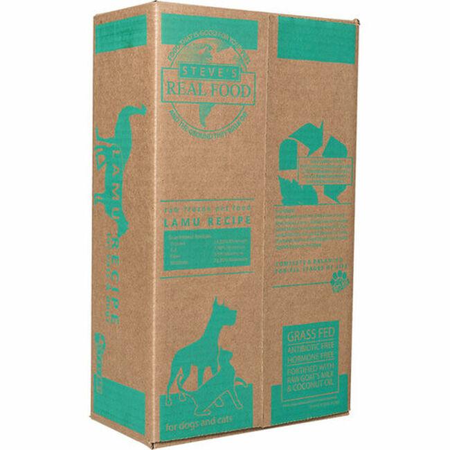 Steve's Raw Frozen Lamu Recipe Dog & Cat Food - Patties image number null