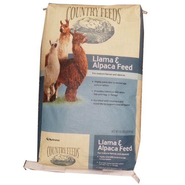 Nutrena Country Feeds Llama & Alpaca Feed 14% Crude Protein image number null