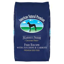 American Natural Premium Fish Recipe with Zucchini and Carrots Dry Dog Food