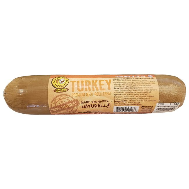 Happy Howie's Turkey Premium Meat Roll Treats-2lb image number null