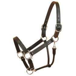 Tory Leather Triple Stitched Track Halter