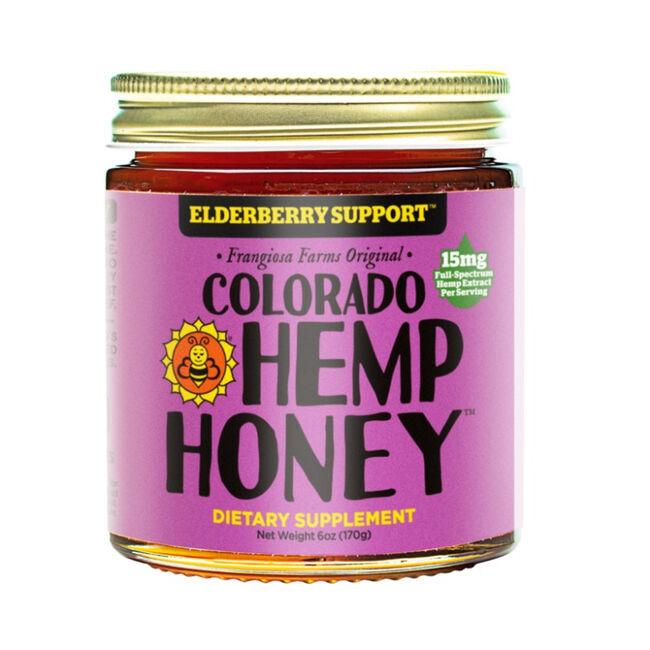 Colorado Hemp Honey Elderberry Support  - 6oz image number null