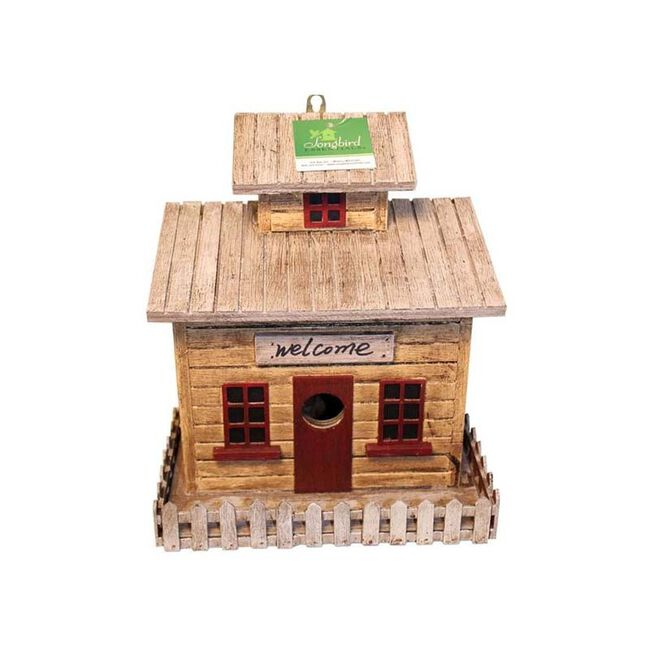 Songbird Cottage Birdhouse image number null