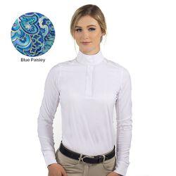 RJ Classics Rebecca Show Shirt - Blue Paisley