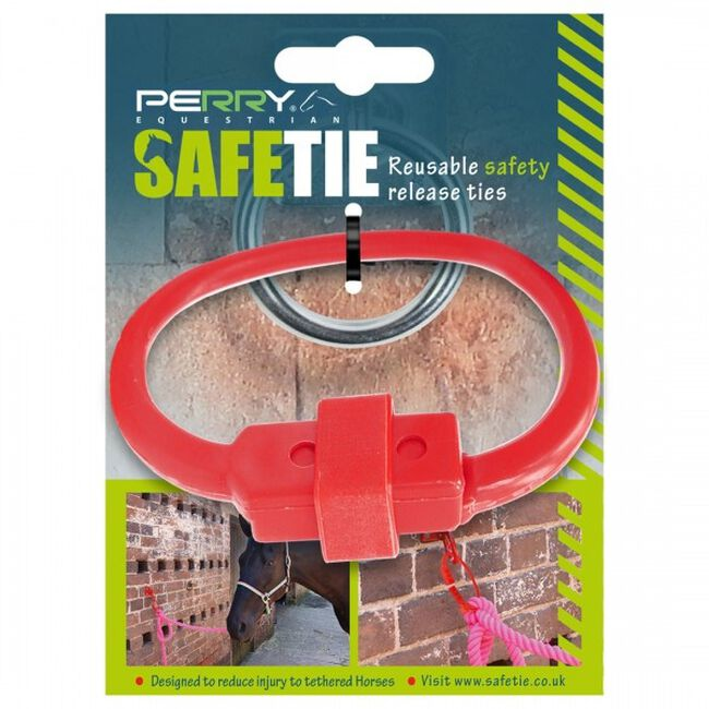 Perry Equestrian SafeTies - Red image number null