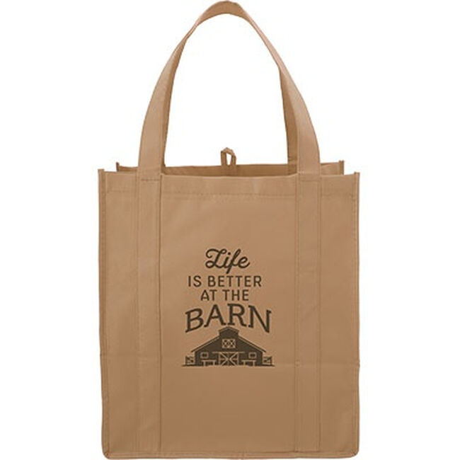 """Kelley """"Life Is Better At The Barn"""" Tote image number null"""