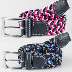 KL Select USG Multi Color Casual Stretch Belt