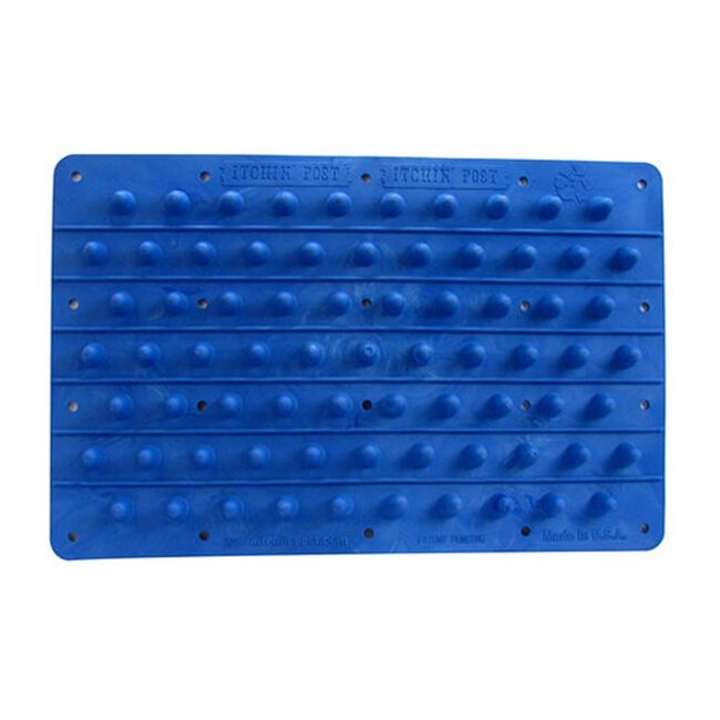 Itchin' Post Animal Grooming Pad - Blue image number null