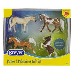 Breyer Stablemates Pintos and Palominos Gift Set