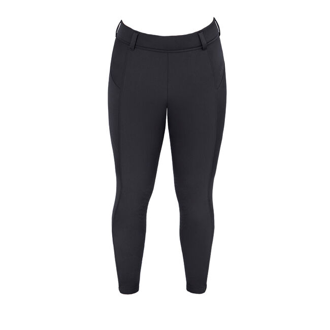 Irideon Women's Thermasoft Knee Patch Breeches - Black image number null