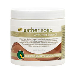 Leather Soap with Tea Tree Oil