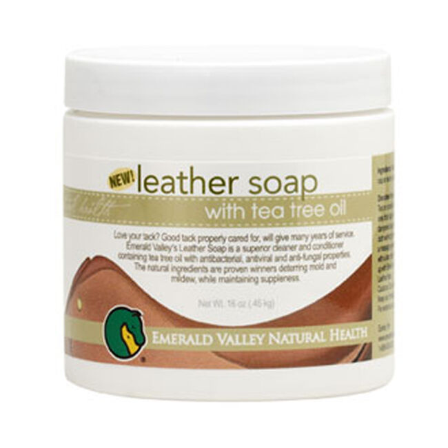 Leather Soap with Tea Tree Oil image number null
