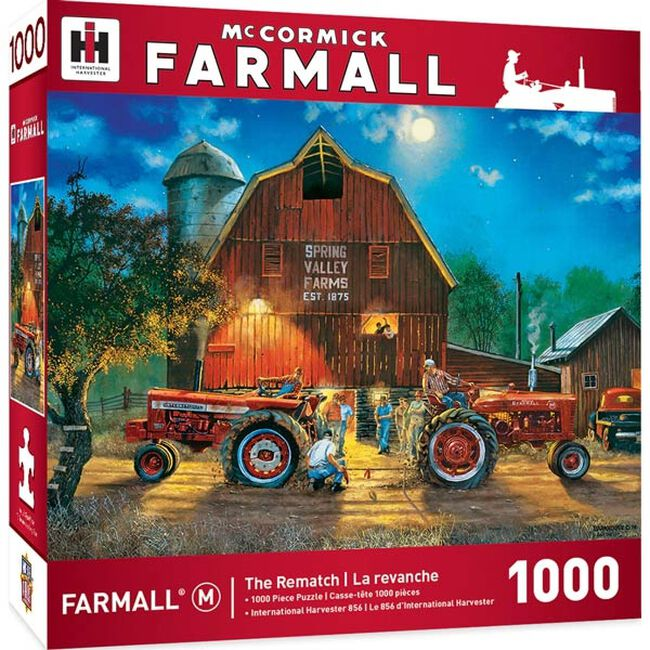 """""""The Rematch"""" 1000 Piece Jigsaw Puzzle image number null"""