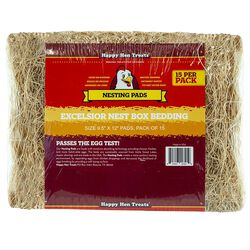 Happy Hen's Nesting Pads 15ct
