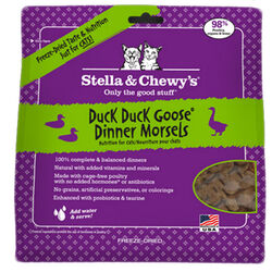 Stella & Chewy's Duck, Duck, Goose Dinner Morsels Freeze Dried Cat Food