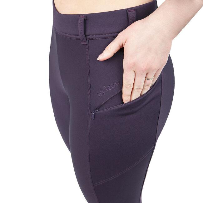 Irideon Women's Thermasoft Full Seat Breeches - Black image number null