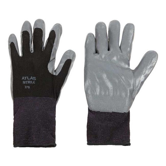 Atlas Unisex Indoor/Outdoor Nitrile Coated Work Gloves image number null